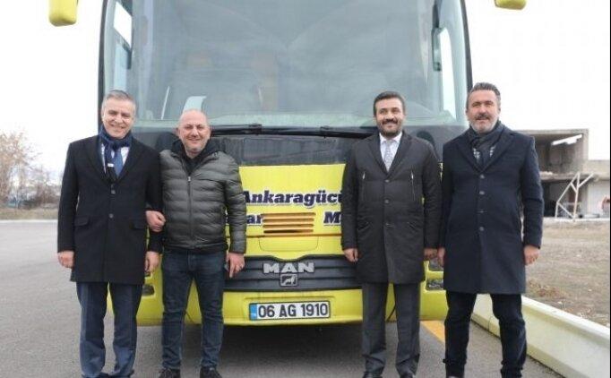 MKE Ankaragücü'nün eski yöneticisi Abdullah Karaata'dan kulübe 'otobüs' desteği