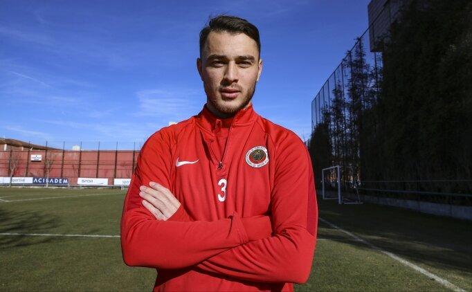 Halil İbrahim Pehlivan'ın hayali milli takım forması