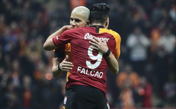 Galatasaray 8'de 8 ile gidiyor; 3-0