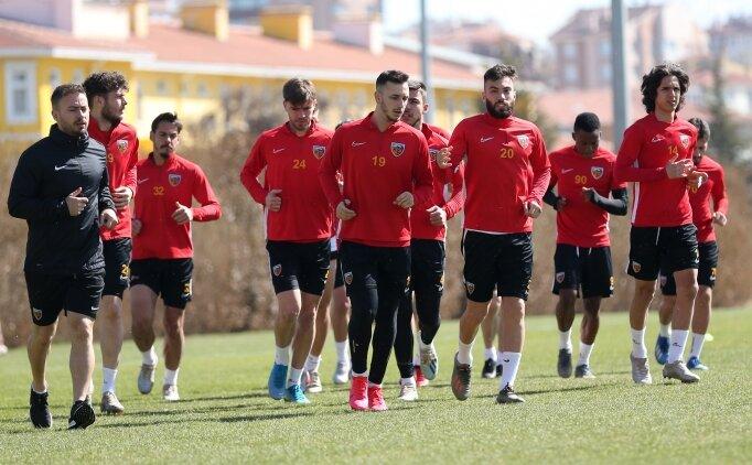 Kayserispor, Kasımpaşa maçının hazırlıklarını sürdürdü