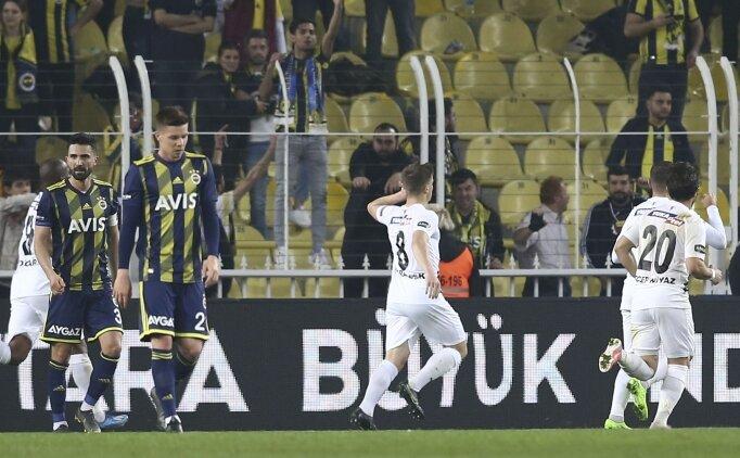 Fenerbahçe'nin hasreti 6 maça çıktı!