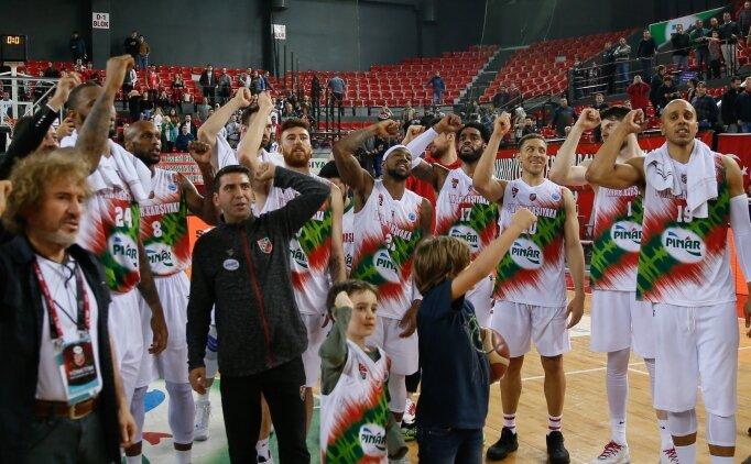Karşıyaka, EuroCup'ta yarı finalde!