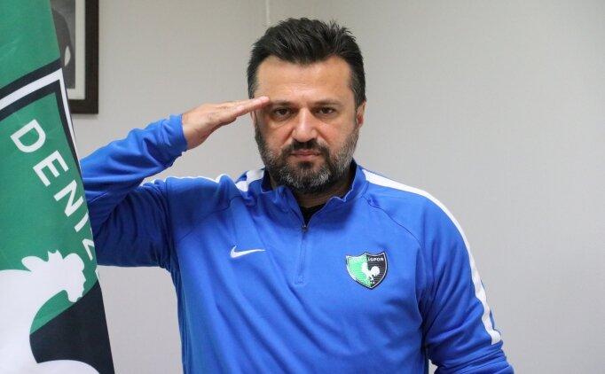 Bülent Uygun, Denizlispor'daki hedefini açıkladı