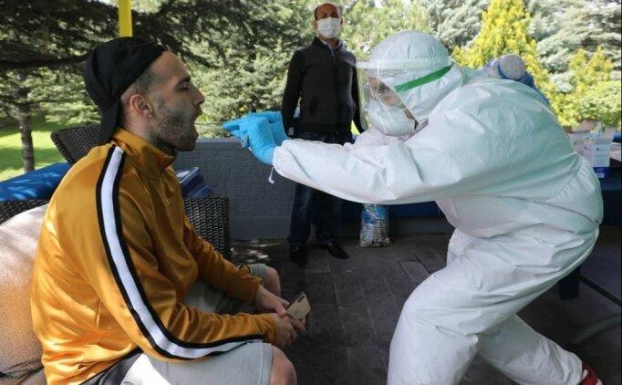 Ankaragücü'nde teknik heyet ve futbolculara koronavirüs testi yapıldı