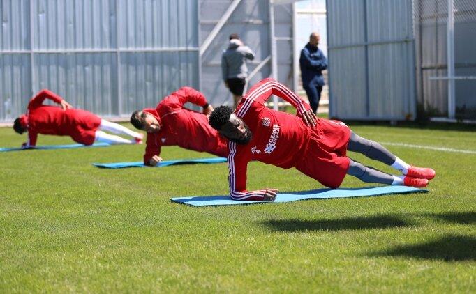 Sivasspor lige hazırlanıyor
