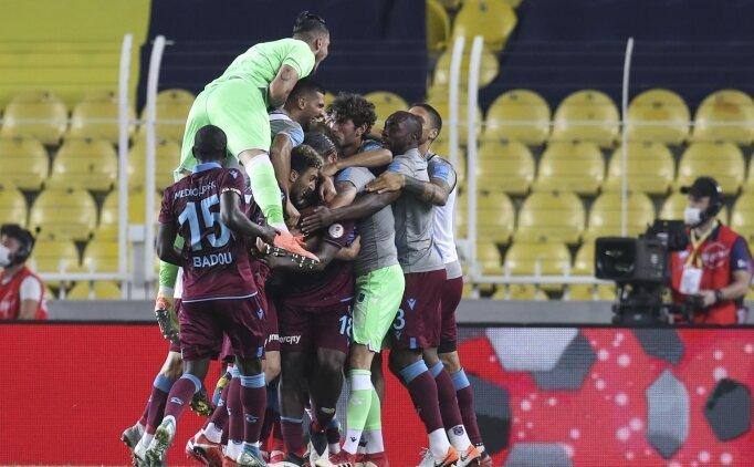 Trabzonspor, final biletini Kadıköy'de kaptı!