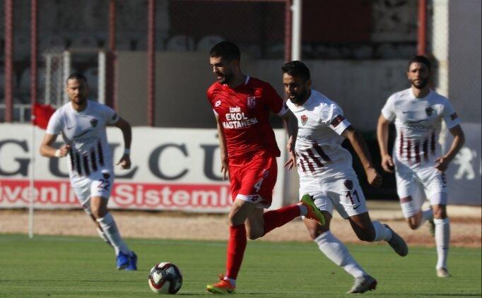 Hatayspor'un rotası Süper Lig! Liderliğe devam...