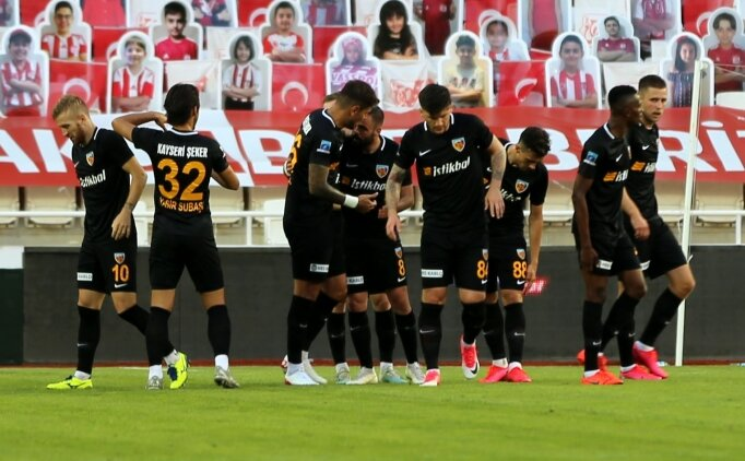 Kayserispor, hayatta kalmak için Sivasspor'a acımadı