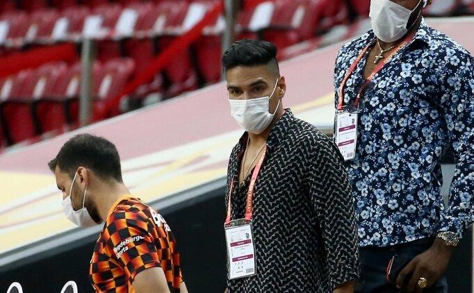 Kolombiya basını: 'Falcao, Trabzonspor maçında çok şıktı'