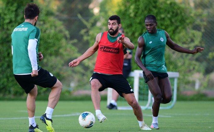 Konyaspor, Trabzonspor maçı hazırlıklarına başladı