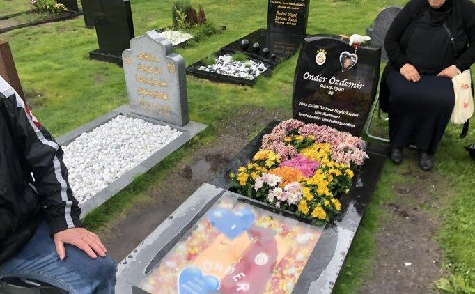 İsveç'te Türk gencin mezarı, Galatasaray amblemi ve formasıyla süslendi