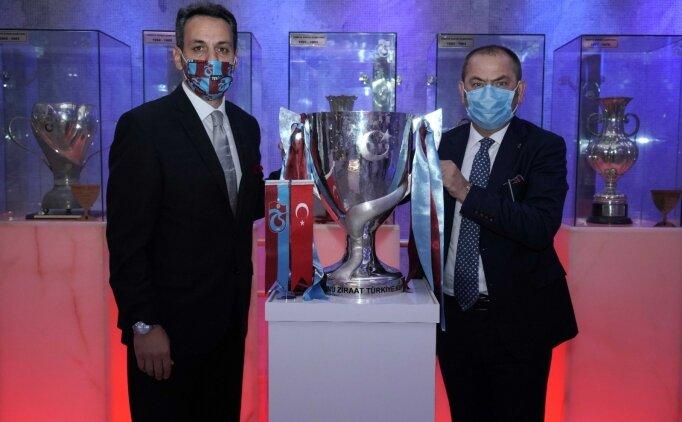 Türkiye Kupası, Trabzonspor Müzesi'ndeki yerini aldı