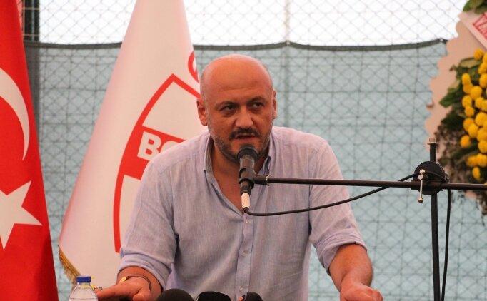 Boluspor Kulübünün yeni başkanı Abdullah Abat oldu