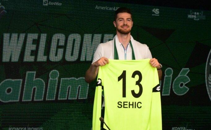 Konyaspor Sehic'i transfer etti, Uğur Demirok ile uzattı