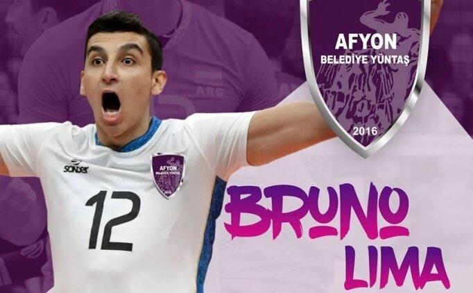 Afyon Belediye Yüntaş, Bruno Lima'yı transfer etti