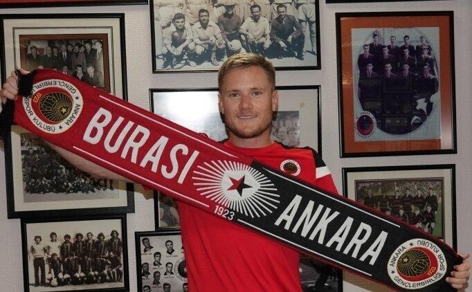 Gençlerbirliği'nde Johansson: 'Türkiye'de olacağım için mutluyum'