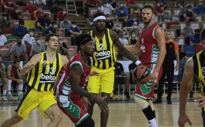 Fenerbahçe Beko, Gloria Cup'ta Karşıyaka'ya kaybetti
