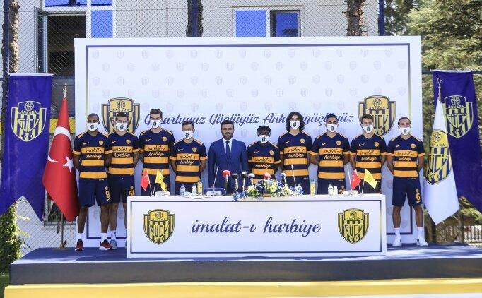 Ankaragücü'nde yeni transferler tanıtıldı