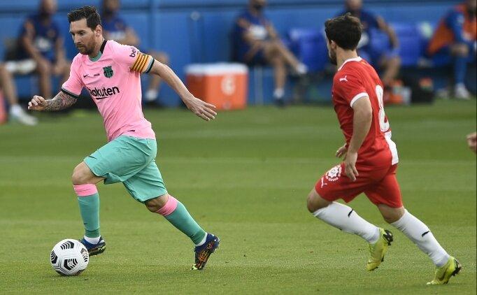 Getafe hocasından Messi'ye övgüler geldi
