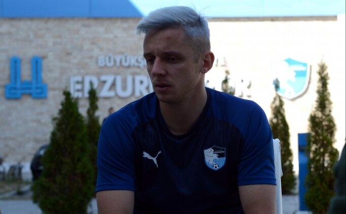 Erzurumsporlu Novikovas: 'Yılın futbolcusu olmak istiyorum'