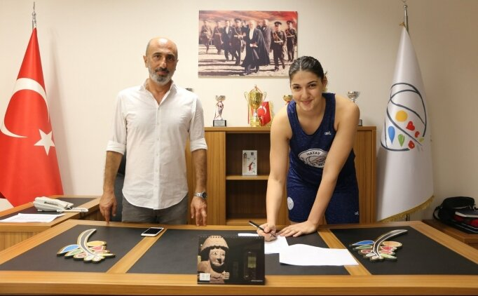 Hatay BŞB, İdal Yavuz'la 5 yıllık sözleşme imzaladı