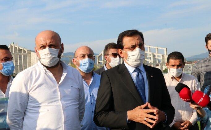 Bolu Valisi Ahmet Ümit'ten Beypiliç Boluspor'a ziyaret