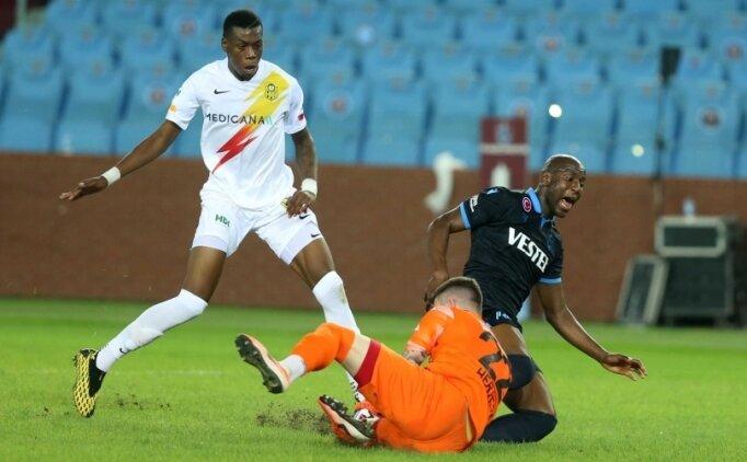 Trabzonspor, ilk 3 puanını 3 golle aldı