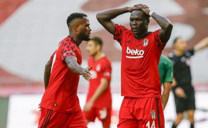 Beşiktaş'ın bu sezon yüzü gülmüyor!