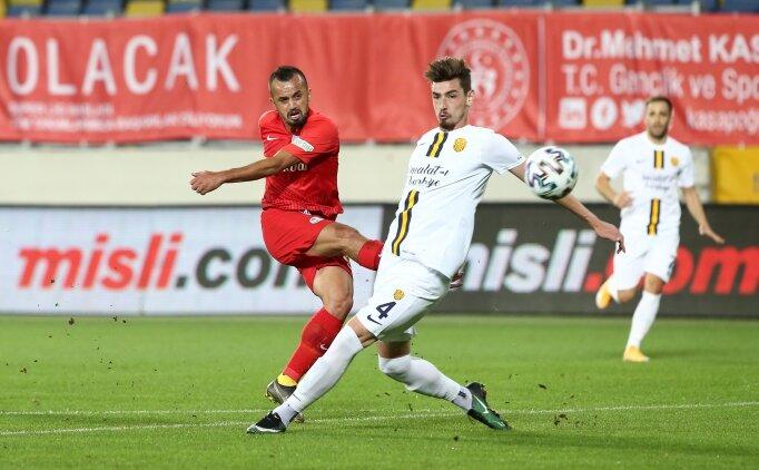 Kayserispor'dan 'Parlak' galibiyet