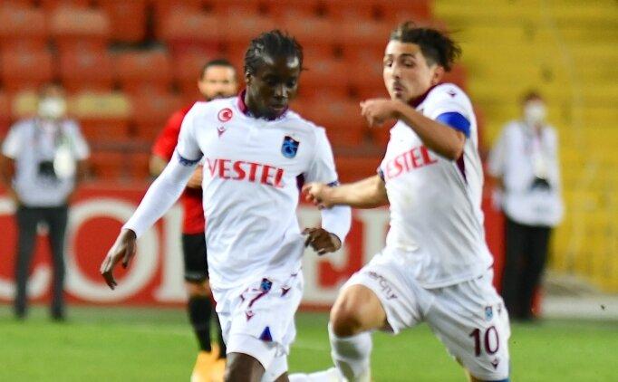 Trabzonspor'da Diabate'nin gözü ilk 11'de