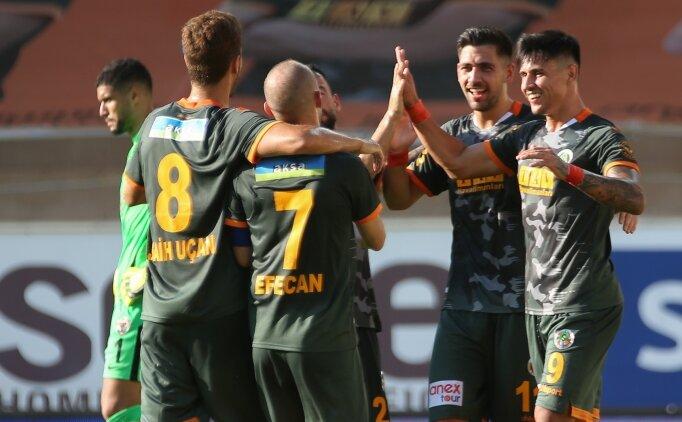 Alanyaspor, Hatayspor'a yarım düzine gol attı!