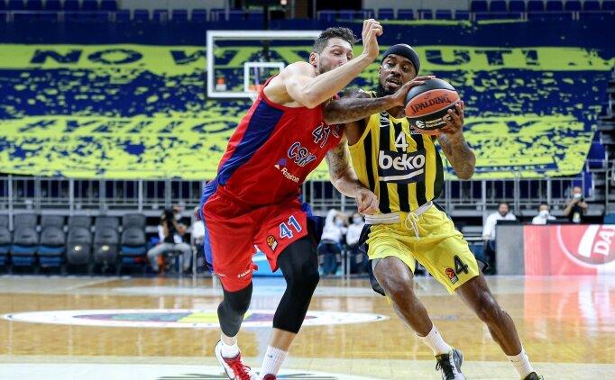 Fenerbahçe, bu kez CSKA'ya takıldı