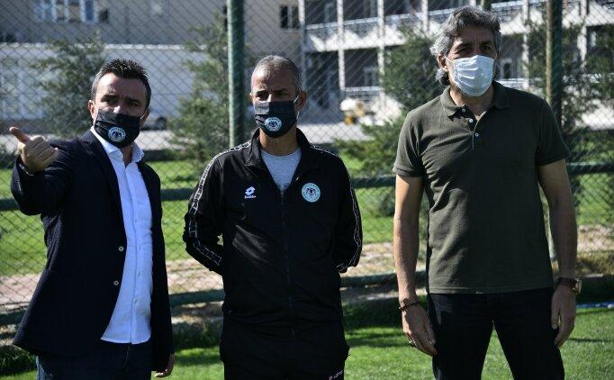 Konyaspor Teknik Direktörü İsmail Kartal, altyapı tesislerini ziyaret etti