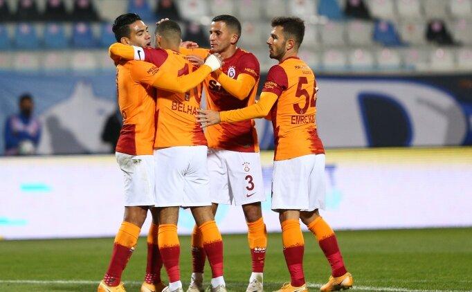 Galatasaray'da hedef 3'te 3