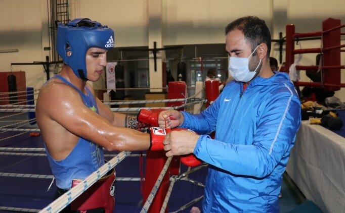Erkek Boks Milli Takımı olimpiyat kota müsabakalarına hazırlanıyor