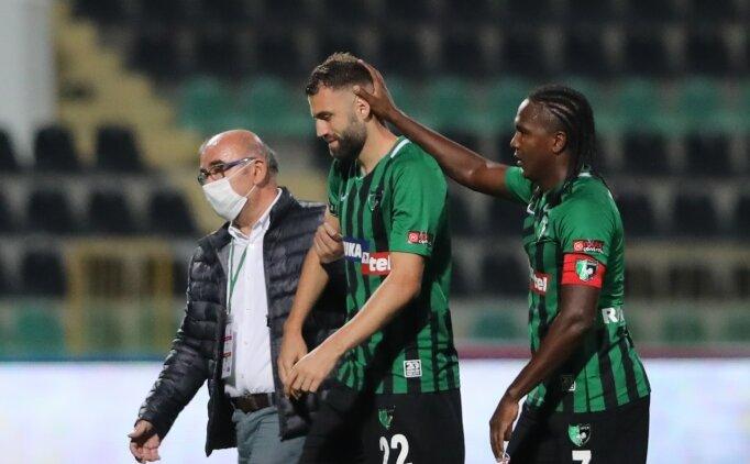 Mustafa Yumlu sakatlandı, oyundan çıktı
