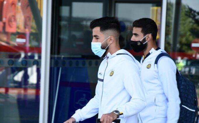 Maccabi Tel-Aviv kafilesi Sivas'a geldi