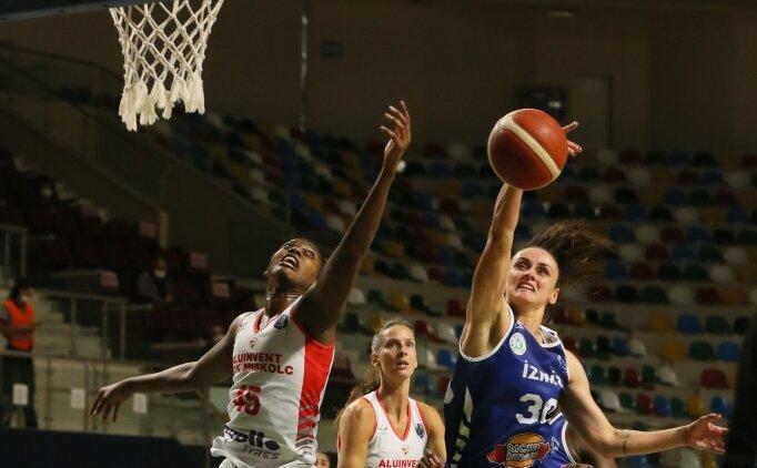 İzmit Belediyespor, Kadınlar Avrupa Ligi'nde gruplara kaldı