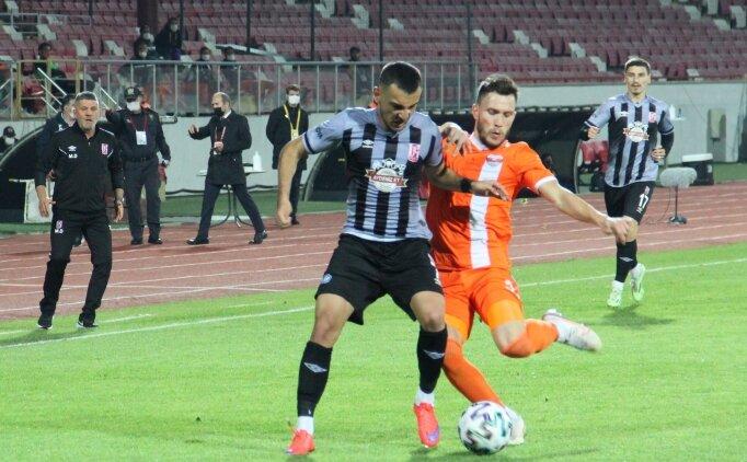 Adanaspor, 3 puanı 3 golle aldı
