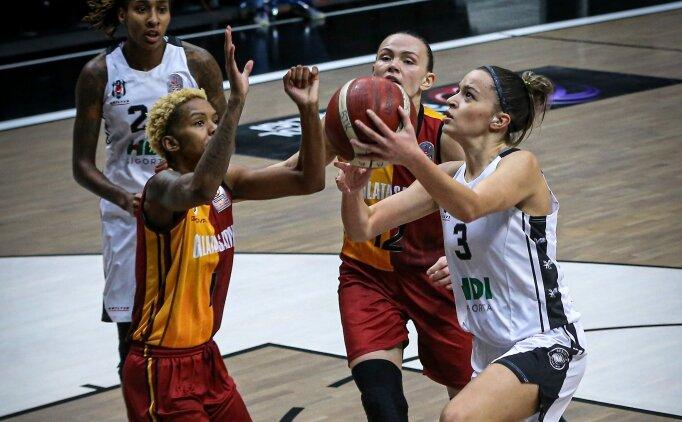 Galatasaray, kadın basketbol derbisini kazandı