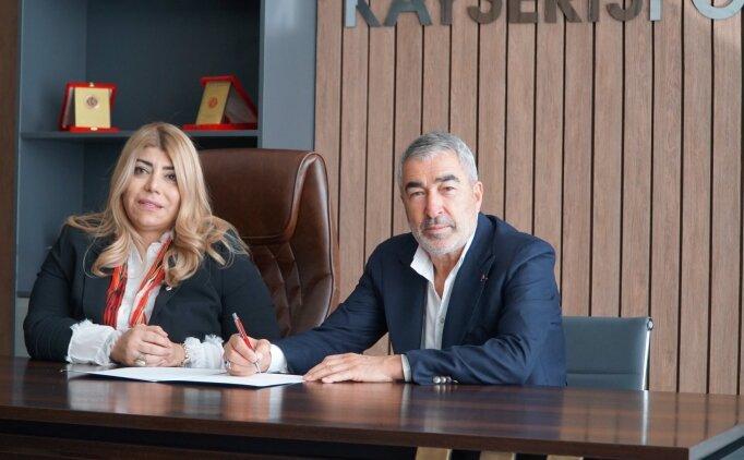 Samet Aybaba, Kayserispor'la sözleşme imzaladı