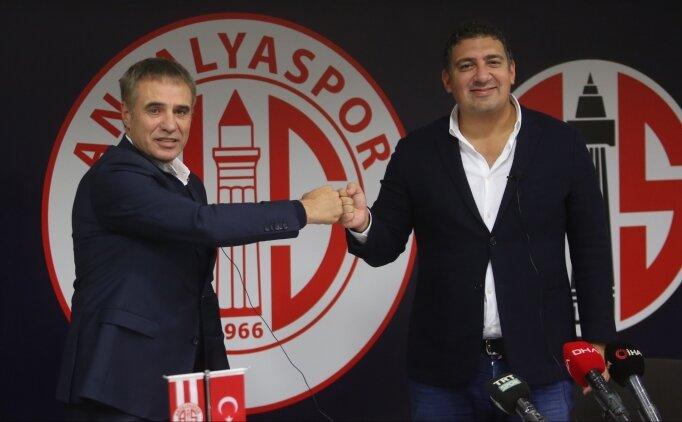 Ersun Yanal: 'Hedef, zirvenin takımı Antalyaspor'u oluşturmak'
