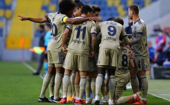 Fenerbahçe'den Ankara'da 5 gollü gövde gösterisi