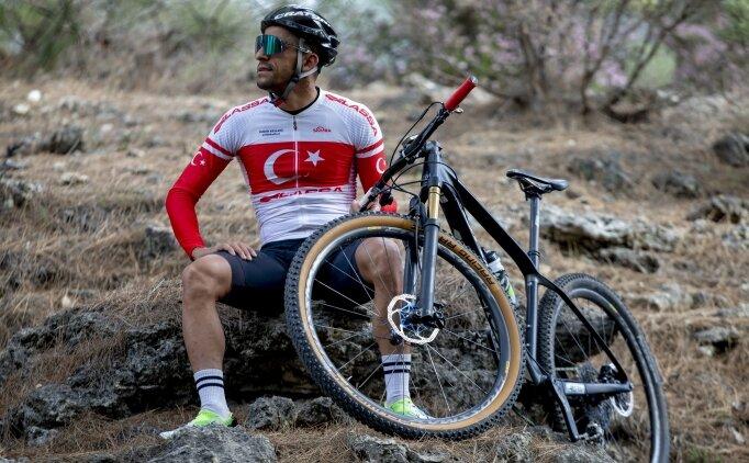 Dağ bisikletinin şampiyonu Kadir Kelleci'nin hedefi dünya sıralamasındaki yerini korumak