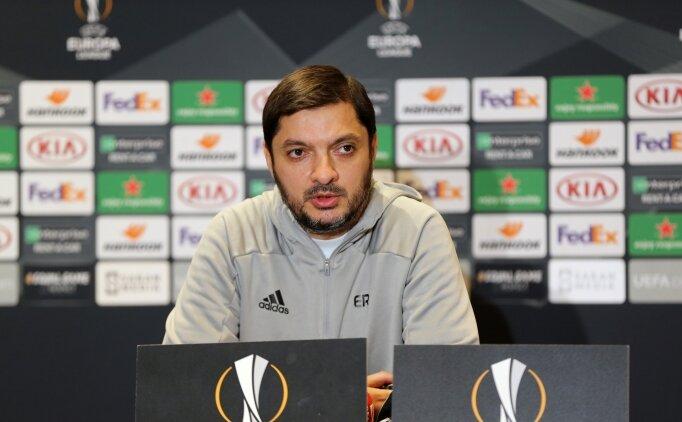 Elchin Rahmanov: 'Grupta ilk puanımızı almak istiyoruz'