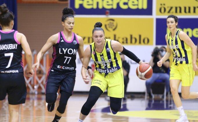 Fenerbahçe Öznur Kablo, Avrupa maçında kaybetti