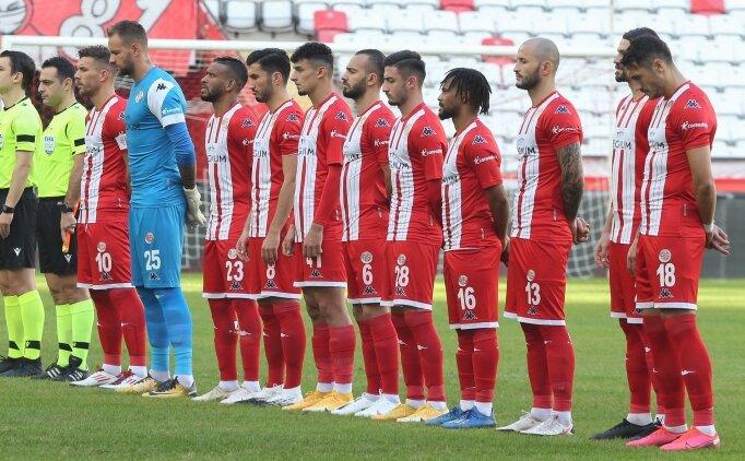Antalyaspor'da sakatlığı bulunan 6 futbolcunun son durumu