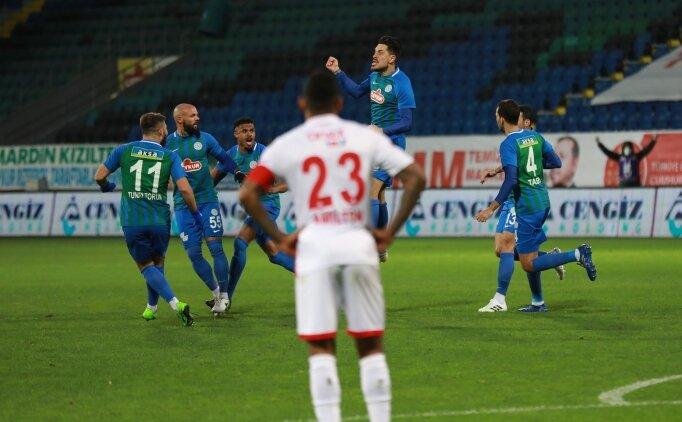 Rizespor, Antalyaspor'a şans tanımadı!