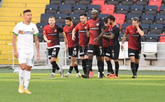Gaziantep FK, Alanyaspor'u da geçti: 13 maçlık seri