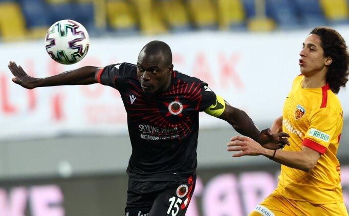 Gençlerbirliği - Kayserispor maçında 5 gol atıldı, 4 gol de iptal edildi